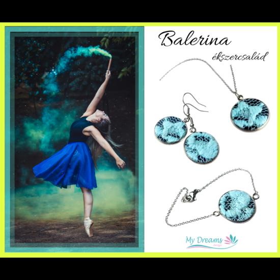 Balerina kék szett 3 részes