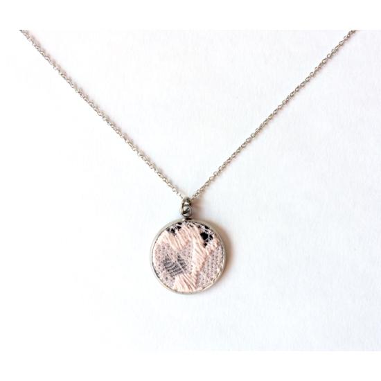 Balerina rózsaszín nyaklánc