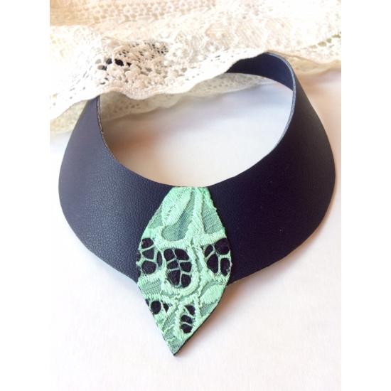 Cleopátra menta-zöld nyakék