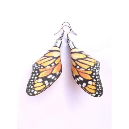 Aranyló pillangó fülbevaló