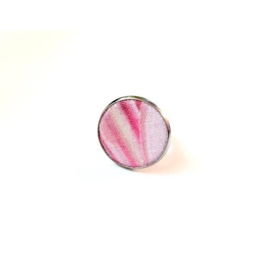 Magnólia gyűrű gyöngyház csillogással