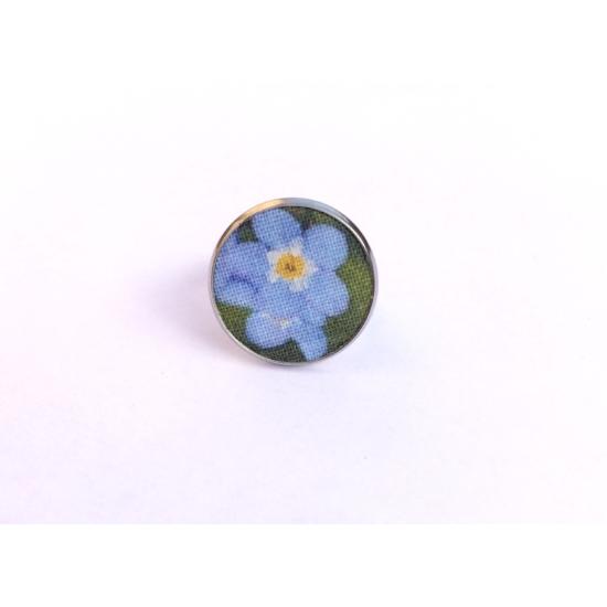 Kék nefelejcs gyűrű