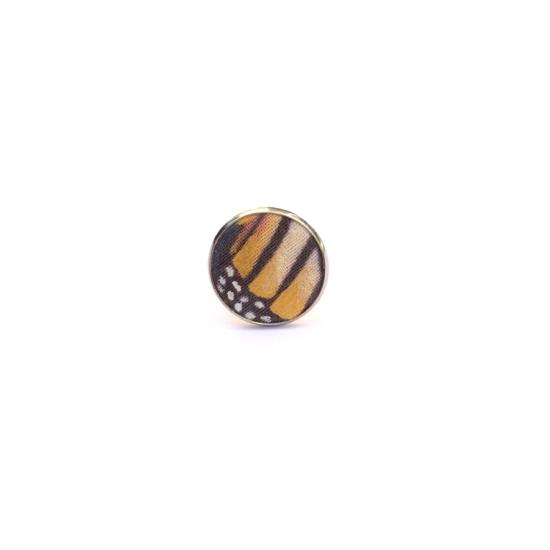 Aranyló pillangó gyűrű