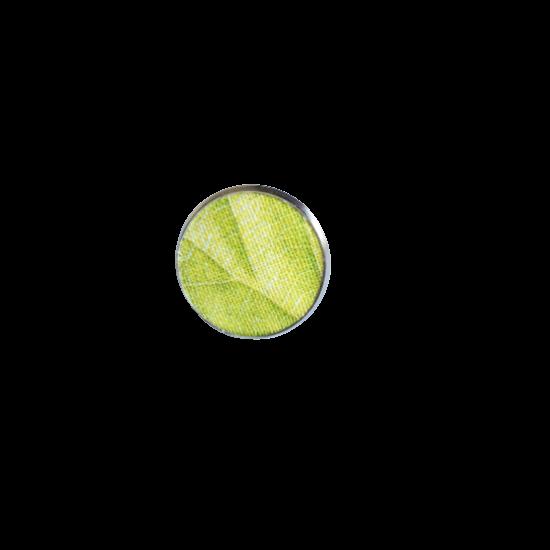 Levélmintás zöld gyűrű