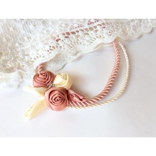 Aurora rózsaszín nyakék