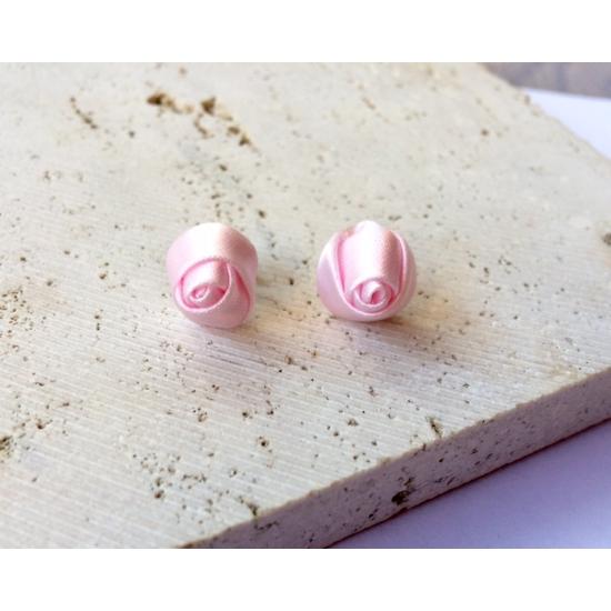 PONT ELÉG virág fülbevaló - világos rózsaszín