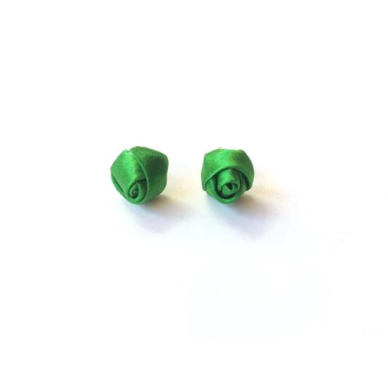 PONT ELÉG virág fülbevaló-zöld