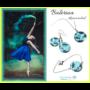 Kép 1/4 - Balerina kék szett 3 részes