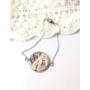 Kép 1/5 - Balerina rózsaszín karkötő