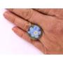 Kép 5/5 - Kék nefelejcs gyűrű