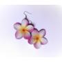 Kép 2/4 - Hawaii rózsa fülbevaló
