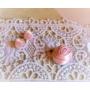 Kép 3/3 - Aurora mini halvány rózsaszín ékszerszett 2 részes