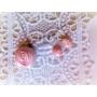Kép 1/3 - Aurora mini halvány rózsaszín ékszerszett 2 részes