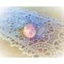 Kép 1/5 - Halvány rózsaszín rózsás gyűrű