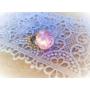 Kép 4/5 - Halvány rózsaszín rózsás gyűrű