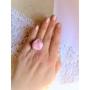 Kép 5/5 - Halvány rózsaszín rózsás gyűrű
