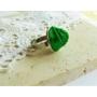 Kép 2/4 - Zöld rózsás gyűrű